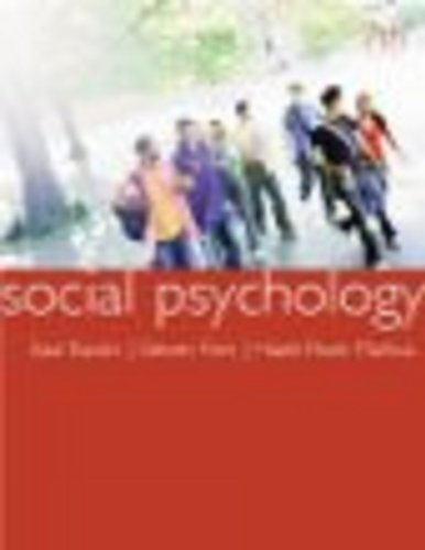 Social Psychology  7th 2008 9780618875665 Front Cover