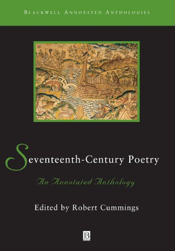 Seventeenth-Century Poetry An Annotated Anthology  2000 edition cover