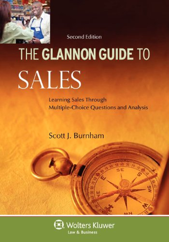 Glannon Guide to Sales Learning Sales Through Multiple-Choice Questions and Analysis 2nd 2012 (Student Manual, Study Guide, etc.) edition cover