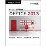MICROSOFT OFFICE 2013,BRIEF 2nd 9780763852665 Front Cover