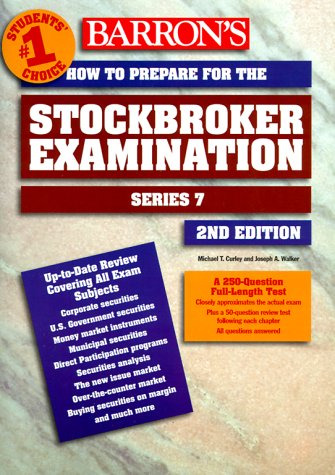 How to Prepare for the Stockbroker Exam Series 7 2nd 2000 9780764107665 Front Cover