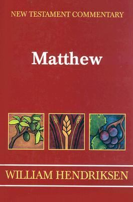 Matthew  N/A 9780801040665 Front Cover