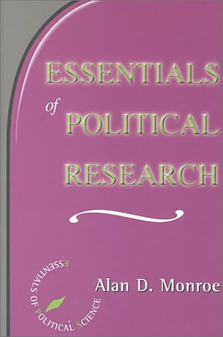 Essentials of Political Research   2000 (Revised) edition cover