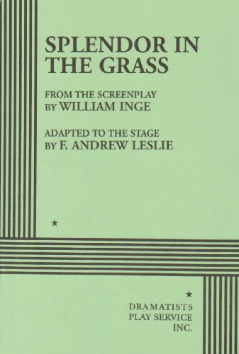 Splendor in the Grass  Adapted edition cover