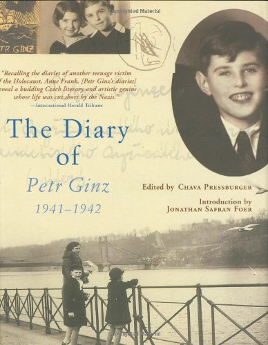 Diary of Petr Ginz 1941-1942  2007 9780871139665 Front Cover