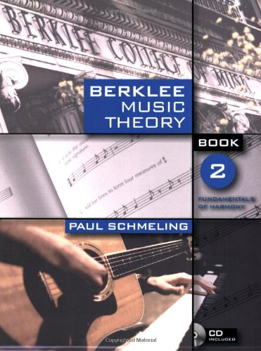 Berklee Music Theory Book 2 Fundamentals of Harmony  2006 edition cover