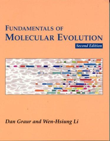 Fundamentals of Molecular Evolution  2nd 2000 edition cover