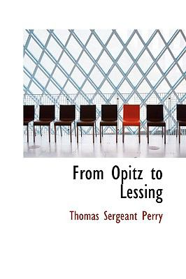 From Opitz to Lessing:   2009 edition cover