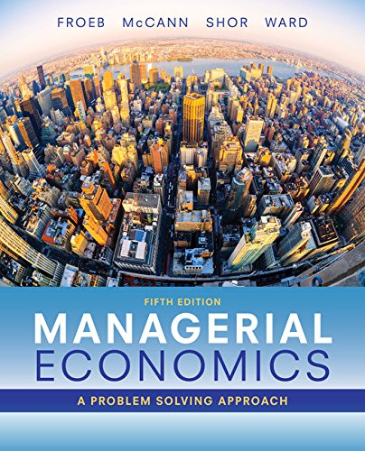 Managerial Economics  5th (Revised) 9781337106665 Front Cover