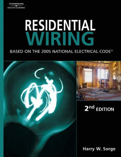 Residential Wiring An Introductory Approach 2nd 2005 (Revised) 9781401878665 Front Cover