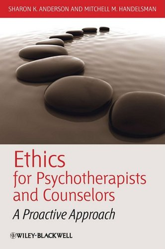 Ethics for Psychotherapists and Counselors A Proactive Approach  2009 edition cover
