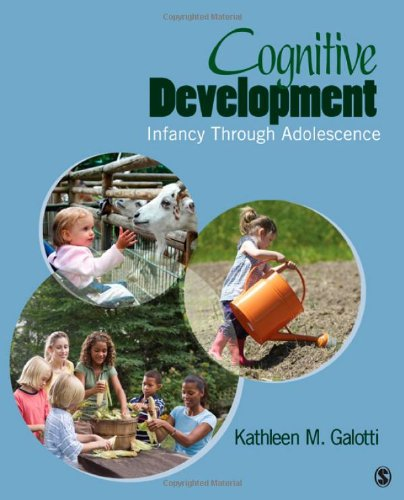 Cognitive Development Infancy Through Adolescence 2nd 2011 edition cover