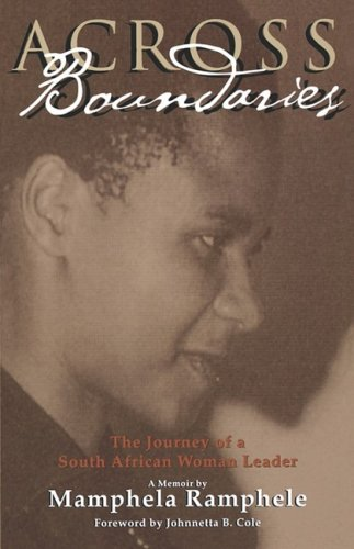 Across Boundaries The Journey of a South African Woman Leader N/A edition cover