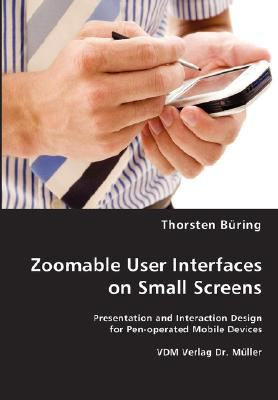 Zoomable User Interfaces on Small Screens N/A edition cover