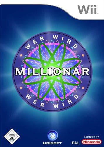 Wer wird Millionär? Nintendo Wii artwork