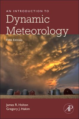 Introduction to Dynamic Meteorology  5th 2012 edition cover
