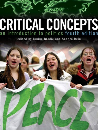 CRITICAL CONCEPTS >CANADIAN< 4th 2009 edition cover
