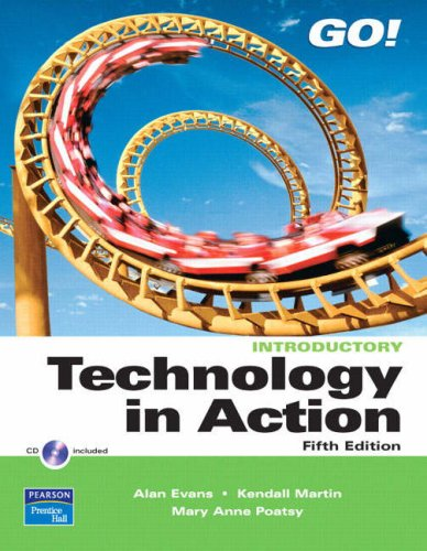 Technology in Action  5th 2009 edition cover