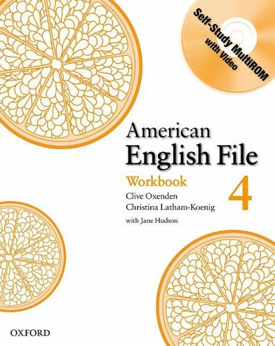 American English File, Level 4  N/A edition cover