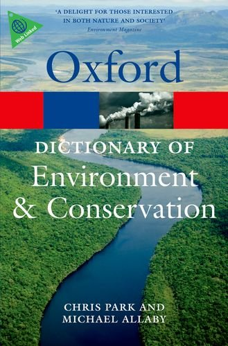 Dictionary of Environment and Conservation  2nd 2013 edition cover