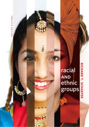 Racial and Ethnic Groups  12th 2010 edition cover