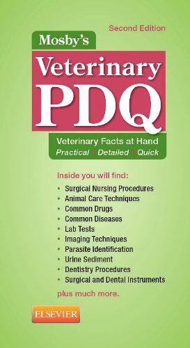 Mosby's Veterinary PDQ  2nd 2014 edition cover