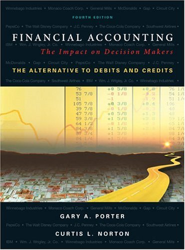 Financial Accounting The Impact on Decision Makers, the Alternative to Debits and Credits 4th 2005 edition cover