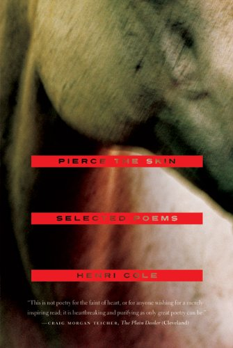 Pierce the Skin Selected Poems, 1982-2007  2011 9780374532666 Front Cover