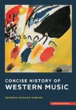 Concise History of Western Music  5th 2014 9780393920666 Front Cover
