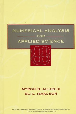 Numerical Analysis for Applied Science  1st 1997 9780471552666 Front Cover
