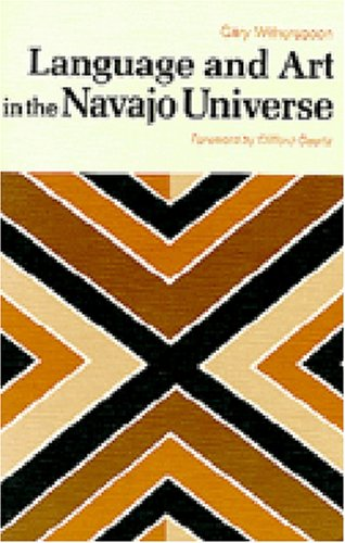 Language and Art in the Navajo Universe  N/A edition cover
