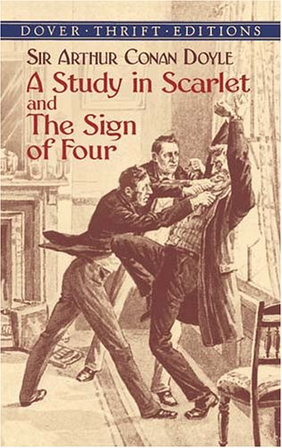 Study in Scarlet and the Sign of Four   2003 edition cover