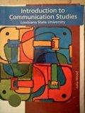 INTRO.TO COMMUNICATION STUDIES N/A 9780495635666 Front Cover