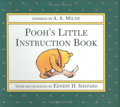 Pooh's Little Instruction Book  N/A 9780525453666 Front Cover