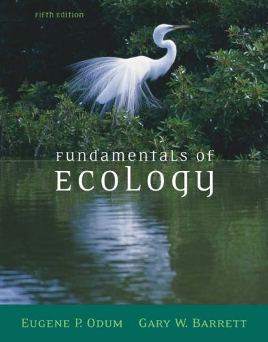 Fundamentals of Ecology  5th 2005 (Revised) 9780534420666 Front Cover