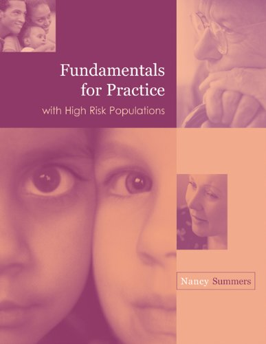 Fundamentals for Practice with High Risk Populations   2003 edition cover