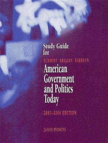 American Government and Politics Today, 2005-2006  12th 2005 (Guide (Pupil's)) 9780534631666 Front Cover