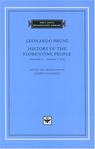 History of the Florentine People   2004 edition cover