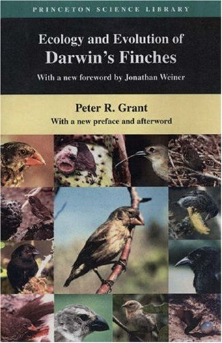 Ecology and Evolution of Darwin's Finches   1987 (Revised) edition cover