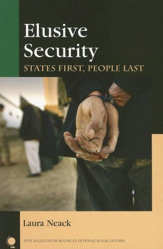 Elusive Security States First, People Last  2006 edition cover