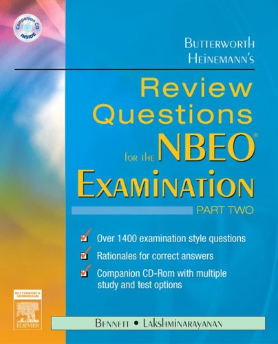 Review Questions for the NBEO Examination   2006 9780750675666 Front Cover