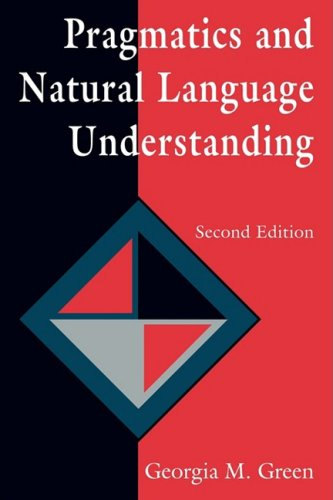 Pragmatics and Natural Language Understanding  2nd 1996 (Revised) edition cover