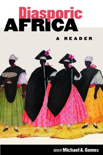 Diasporic Africa A Reader  2006 edition cover