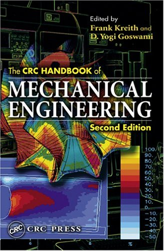 CRC Handbook of Mechanical Engineering  2nd 2004 (Revised) edition cover