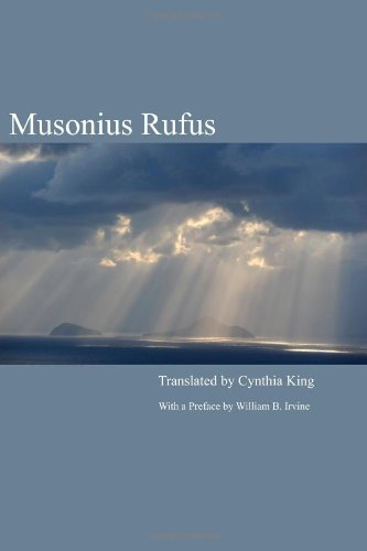 Musonius Rufus Lectures and Sayings N/A edition cover