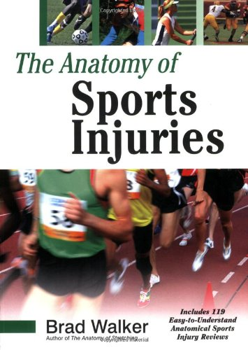 Anatomy of Sports Injuries   2007 9781556436666 Front Cover