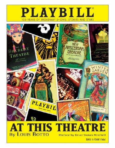 At This Theatre 100 Years of Broadway Shows, Stories, and Stars  2002 (Revised) edition cover