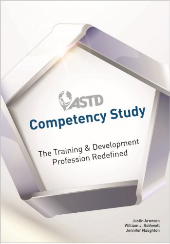 Astd Competency Study: The Training & Development Profession Redefined  2013 9781562868666 Front Cover