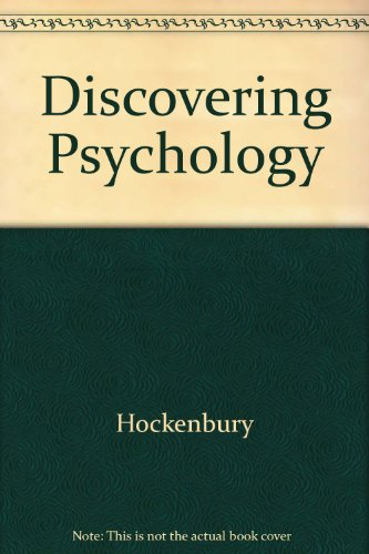 Discovering Psychology 2nd 2001 (Guide (Pupil's)) 9781572599666 Front Cover