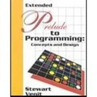 Prelude to Programming Concepts and Design  2002 edition cover